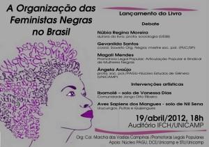 """Lançamento: """"mulheres negras no brasil"""""""
