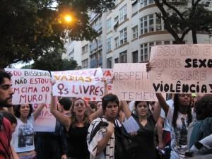 Marcha das Vadias Rio de Janeiro 2011 (foto: Diana Helene)
