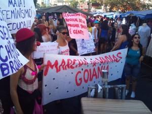 Marcha das Vadias Goiania 2012