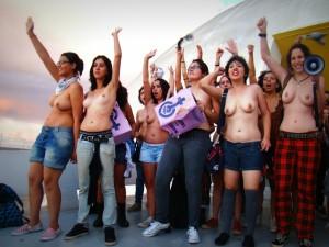 Peitaço Marcha das Vadias Brasília
