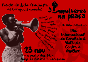 Mulheres na Praça - Articulação da Frente de Luta Feminista de Campinas
